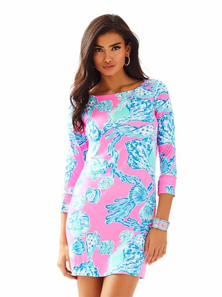 9912048be6b Neuf Lilly Pulitzer Upf 50+ Sophie Robe pink Pout Pieds Nus Princesse XXS