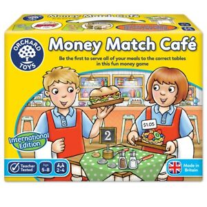 Orchard-Toys-500-l-039-argent-International-match-cafe-fun-learning-Jeux-Ages-5yrs