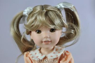 NEW DOLL WIG Style VICKIE Size 10-11 Color Auburn Curls /& High Pigtails