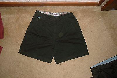 Brioso Vintage 90s Pantaloni Corti Chino (berto Lucci)-mostra Il Titolo Originale Buona Reputazione Nel Mondo