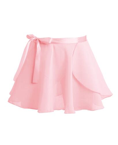 Kids Girl Ballet Dress Gymnastics Long Sleeve Leotards Tutu Wrap Skirt Dancewear