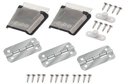 Igloo Stainless Steel Metal Cooler Replacement Hinge & Latch Set (large Coolers)