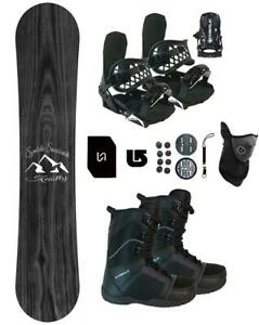 160-Symbolic-Knotty-WIDE-Snowboard-Binding-Boot-Package-Stomp-Lsh-Mask-burton-3d