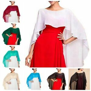 30a429c7adf28 Adult Women's High Low Chiffon Bolero Shrug Jacket Cropped Top ...