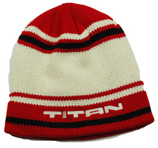 CCM RETRO TITAN HOCKEY STRIPED WINTER KNIT HAT/ BEANIE/ TOQUE - OSFM