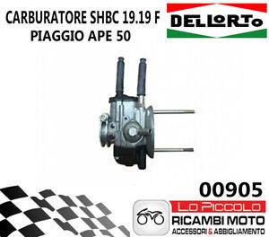 00905 CARBURATORE DELLORTO APE 50 SHBC 19 19F DELL/'ORTO ELABORAZIONE CON MISCELA