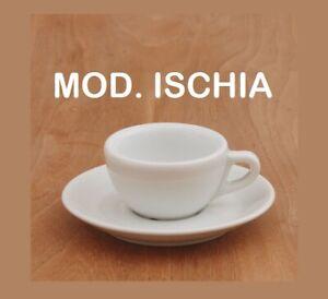 ISCHIA 12-PEZZI TAZZA CAFFE E//O PIATTINO IPA HORECA PORCELLANA HORECA B/&B
