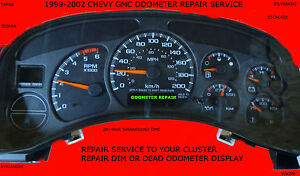 1999 2000 2001 2002 chevy silverado cluster repair ebay for 2001 silverado window motor replacement