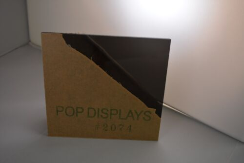 "POPDISPLAYS  COLOR SAMPLE   OF COLOR #2074 GRAY   1//8/"" x 1.5./"" x 1.5/"""