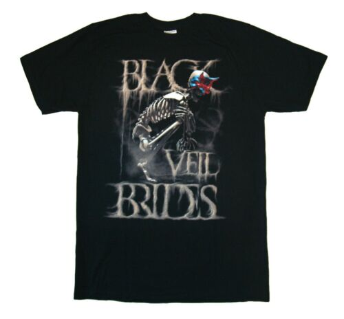 BLACK VEIL BRIDES DUST MASK MUSIC GLAM ROCK BAND MENS T TEE SHIRT S M L XL