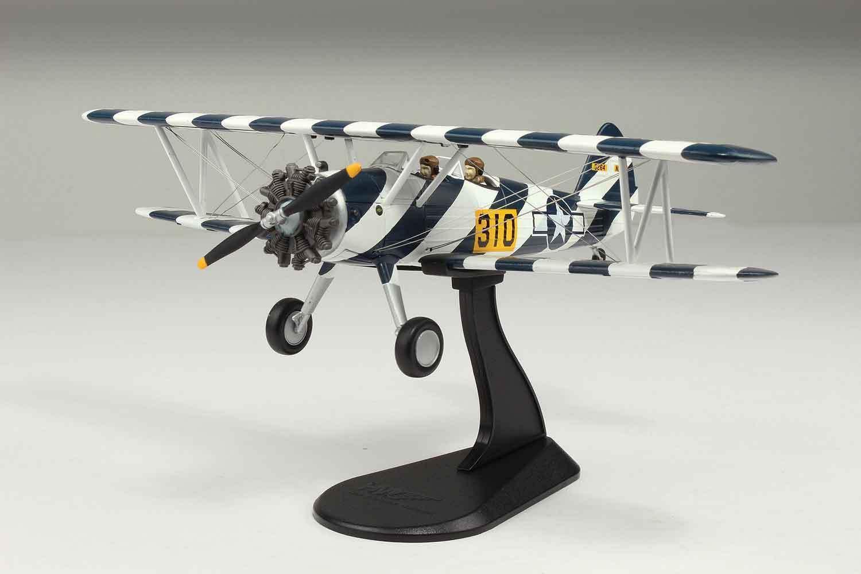 Hobby - meister stearman n2s-3 kaydet  an flugzeugen 310  1930's-40 ist - 8107