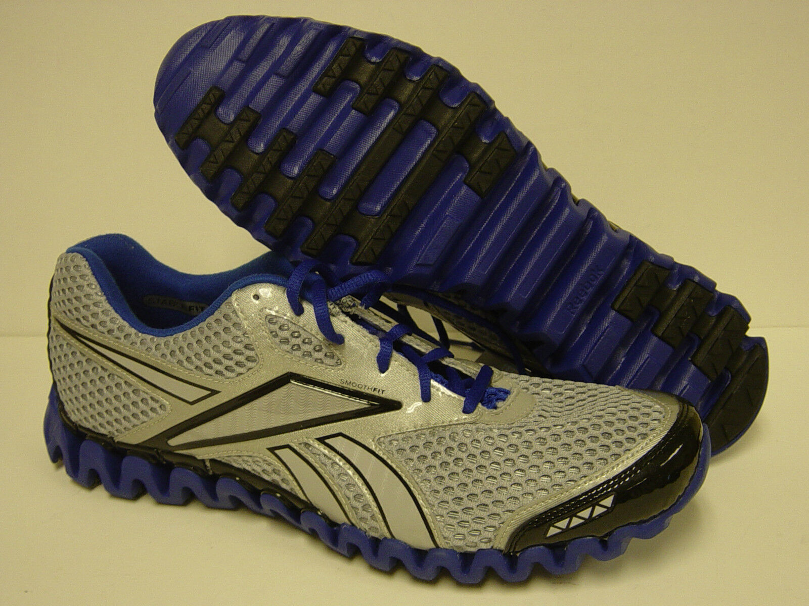 NEW  Uomo REEBOK Premier ZigFly Fly 1-J82660 Grau Blau Zig Fly ZigFly Nano Sneakers Schuhes d69bf4