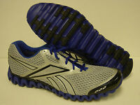 Mens Reebok Premier Zigfly 1-j82660 Grey Blue Zig Fly Nano Sneakers Shoes