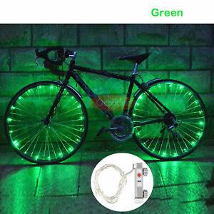 20 LED Bicycle Bike Cycling Rim Lights LED Wheel Spoke Light String Strip Lamp