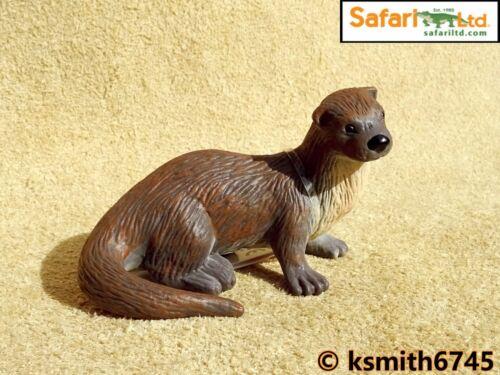 Safari Otter solide Jouet en plastique Wild Zoo marine mer rivière Animal NOUVEAU *