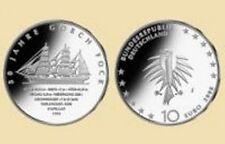 "10 EURO Gedenkmünze BRD 2008 ""Gorch Fock"" -J-"