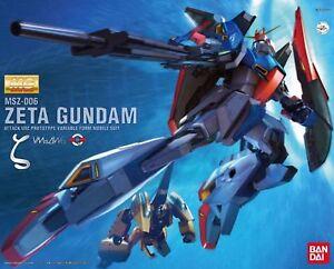 Bandai Mg 1/100 Msz-006 Zeta Gundam Version 2.0 Hd Couleur Maquette En Plastique