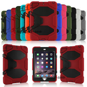 Otter-Shockproof-Stand-Rubber-Case-Cover-For-iPad-2-3-4-Mini-Air-1-2-Pro-9-7