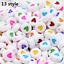 NEW-200-1000pcs-7mm-Mixed-A-Z-Alphabet-Letter-Acrylic-Spacer-Beads-heart-bead thumbnail 15