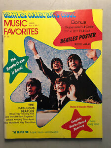 The-Beatles-Collectors-Issue-Music-Favorites-Magazine-Vol-1-No-1-1976-big-poster