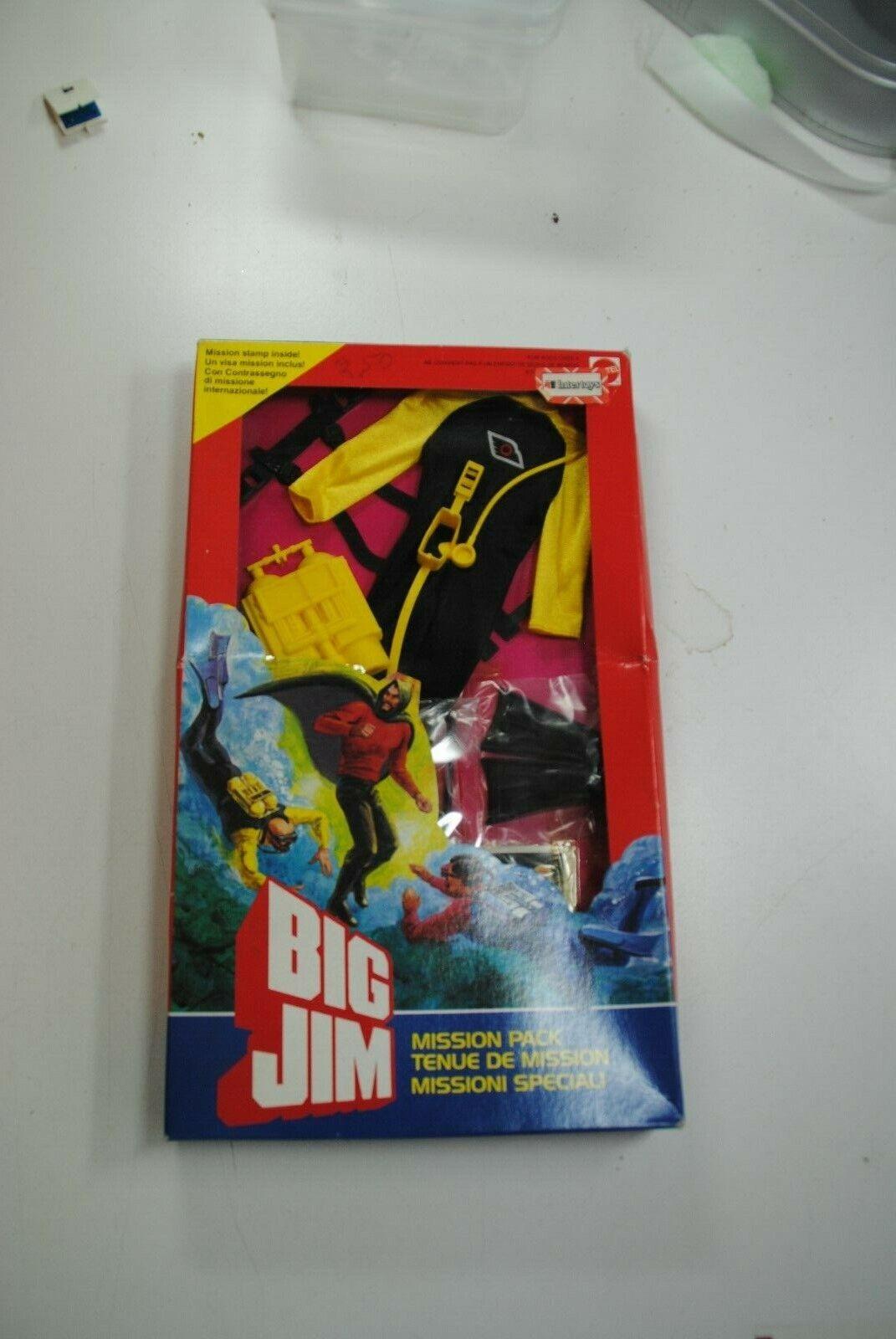 BIG JIM MISSION PACK      DEEP SEA CAPER     MIB RARE SET