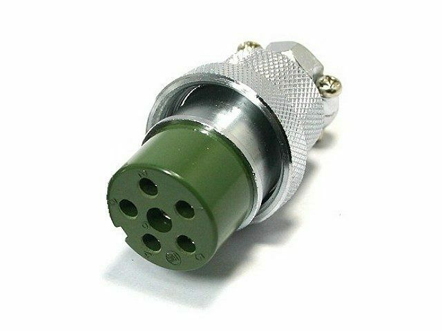 NCS-256-P hamsupply New Yaesu Rotor Plug. 6 Pin. G-450XL, G-800S, G-800/1000/2700/2800SDX Rotators.