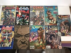 Marvel-Comic-Bundle-90-s-The-Punisher-Comic-amp-Conan-The-Barbarian-Comics-20