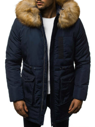 Winterjacke Winter Mantel Parka Übergangs Wärme Sweat Herren OZONEE 11190 MIX