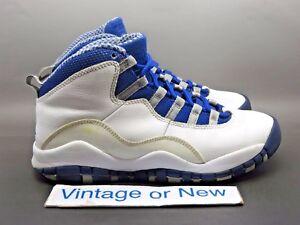 femenino Buscar calidad  Nike Air Jordan X 10 TXT Royal Retro GS 2012 sz 5.5Y | eBay