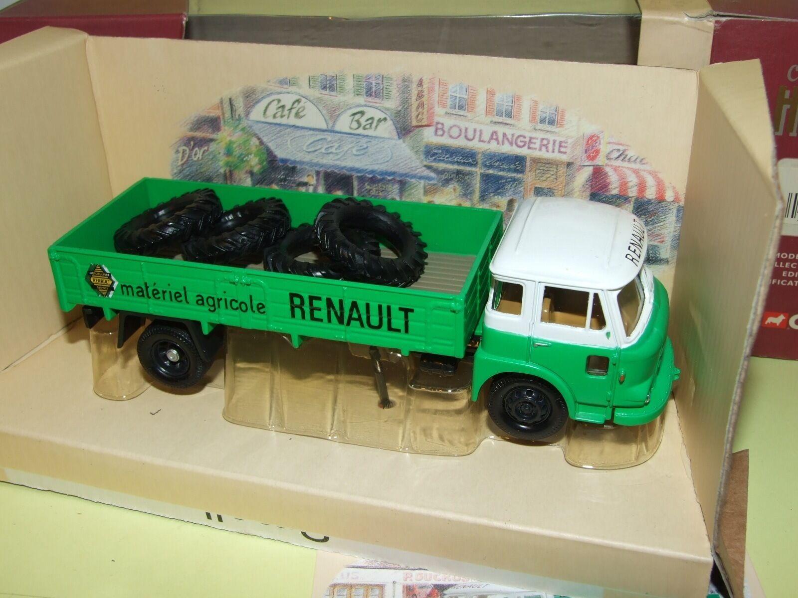 SAVIEM JL à RIDELLES RENAULT AGRICOLE CORGI EX71601 1 50