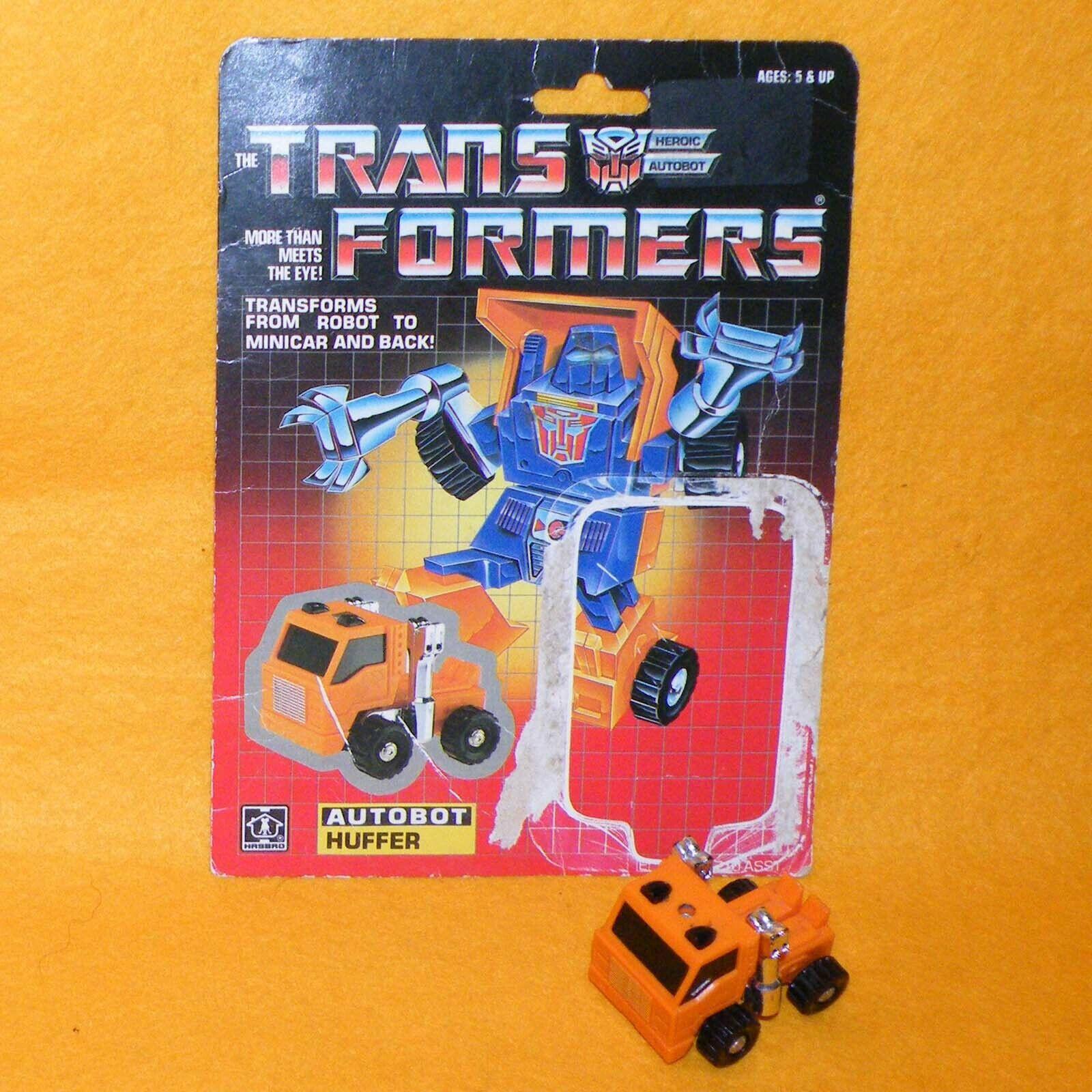 mejor calidad mejor precio Vintage 1984 HASBRO Transformers Transformers Transformers G1 Autobot Cubex MiniCoche figura de robot, Cochetón  autentico en linea
