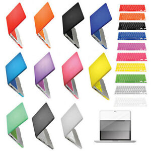 Plastic-Hard-Case-for-Macbook-PRO-13-034-A1278-Keyboard-Skin-Cover-LCD-Screen