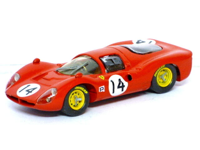 Dallari  Ferrari 330 P3 No.14 (rosso)
