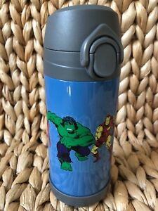 Pottery Barn Kids Medium Blue Marvel Water Bottle Sold Out