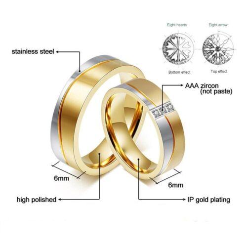 Partnerringe Freundschaftsringe Verlobungsringe Eheringe Edelstahl Gold Silber