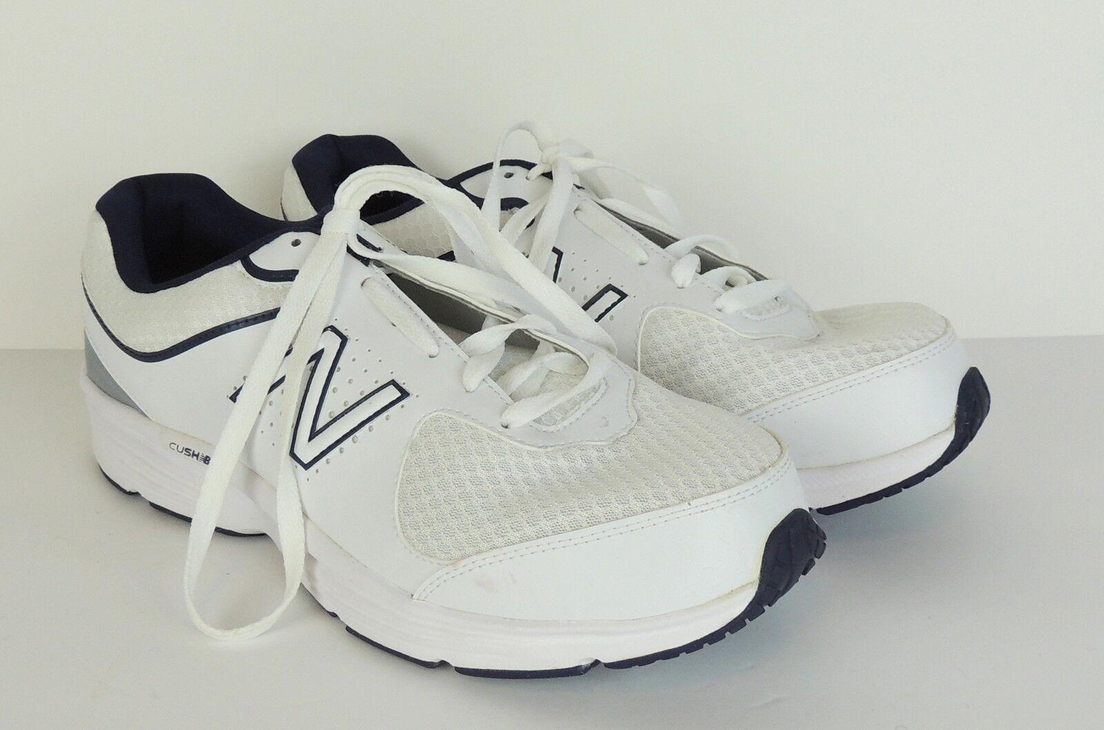 New Balance Homme 11EEEE Sneakers 11 4E WIDE Blanc Cushioning Comfort Insert