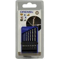 Dremel 628 Precision 7 Drill Bit Set 0.8mm 1.2mm 1.6mm 2.0mm 2.4mm 2.8mm 3.2mm
