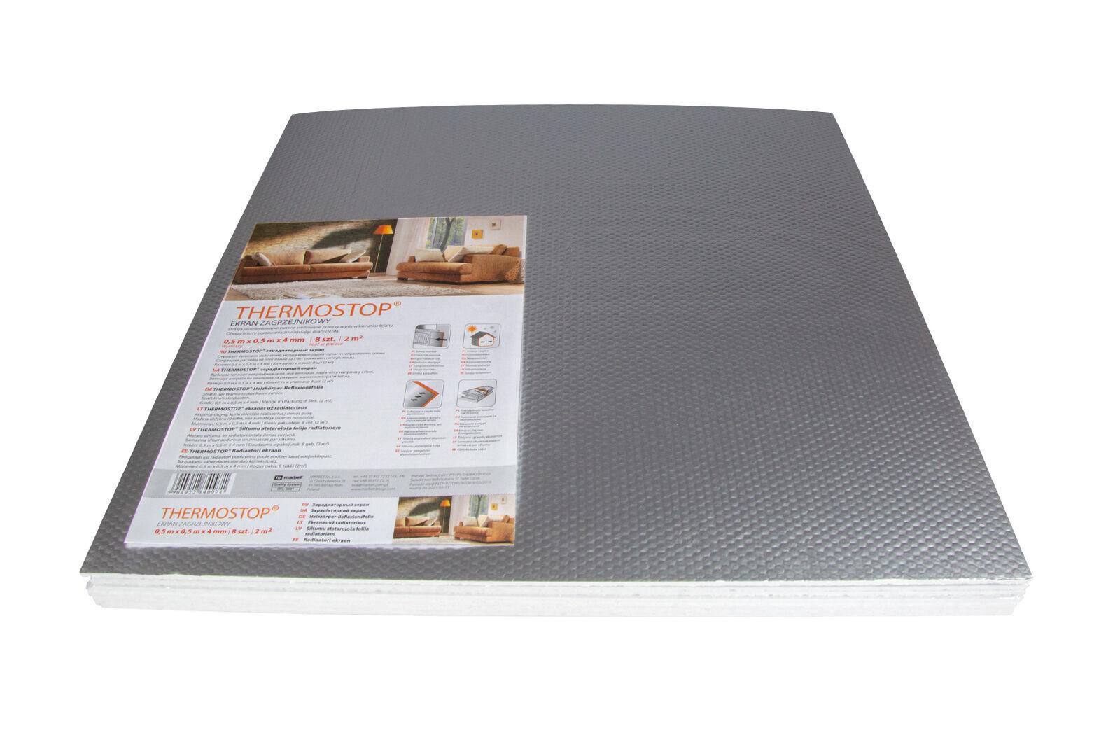 10 m/² Isoliertapeten Untertapeten Wand Isolierung THERMO-TAP 3 3mm