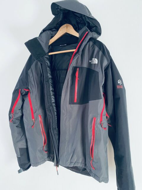 THE NORTH FACE Summit Series HyVent Alpha Insulated Jacket M L Carbon Asphalt