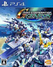 Used SD Gundam G Generation Genesis (PlayStation 4, 2016) Japan Import
