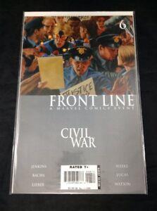 Civil-War-Front-Line-6-Marvel-Comics-2006-Avengers-Iron-Man-Captain-America-NM