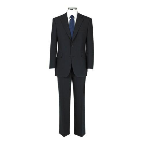 "10120 ,Size 40XL-52XL/"",L36 SCOTT Extra Tall Woolmix 2 Piece Suit in Plain Navy"
