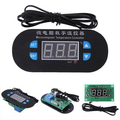 DC 220V Digital LED Heat Cool Thermostat Temperature Controller Sensor Hottest U