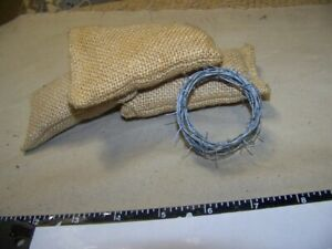 1-6th-Scale-GI-Joe-Dragon-Metal-WWII-5-foot-Barb-Wire-only