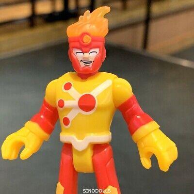 Imaginext FIRESTORM DC Super Friends DC COMICS SERIES 3 Fisher-Price figure toy