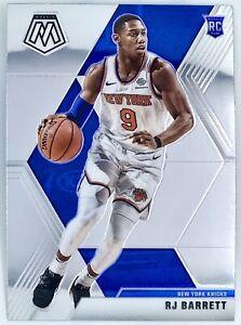 2019-20-Panini-Prizm-Mosaic-RJ-Barrett-Rookie-Card-RC-NBA-New-York-Knicks