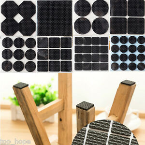 Image Is Loading Anti Skid Black Adhesive Felt Furniture Pads Floor