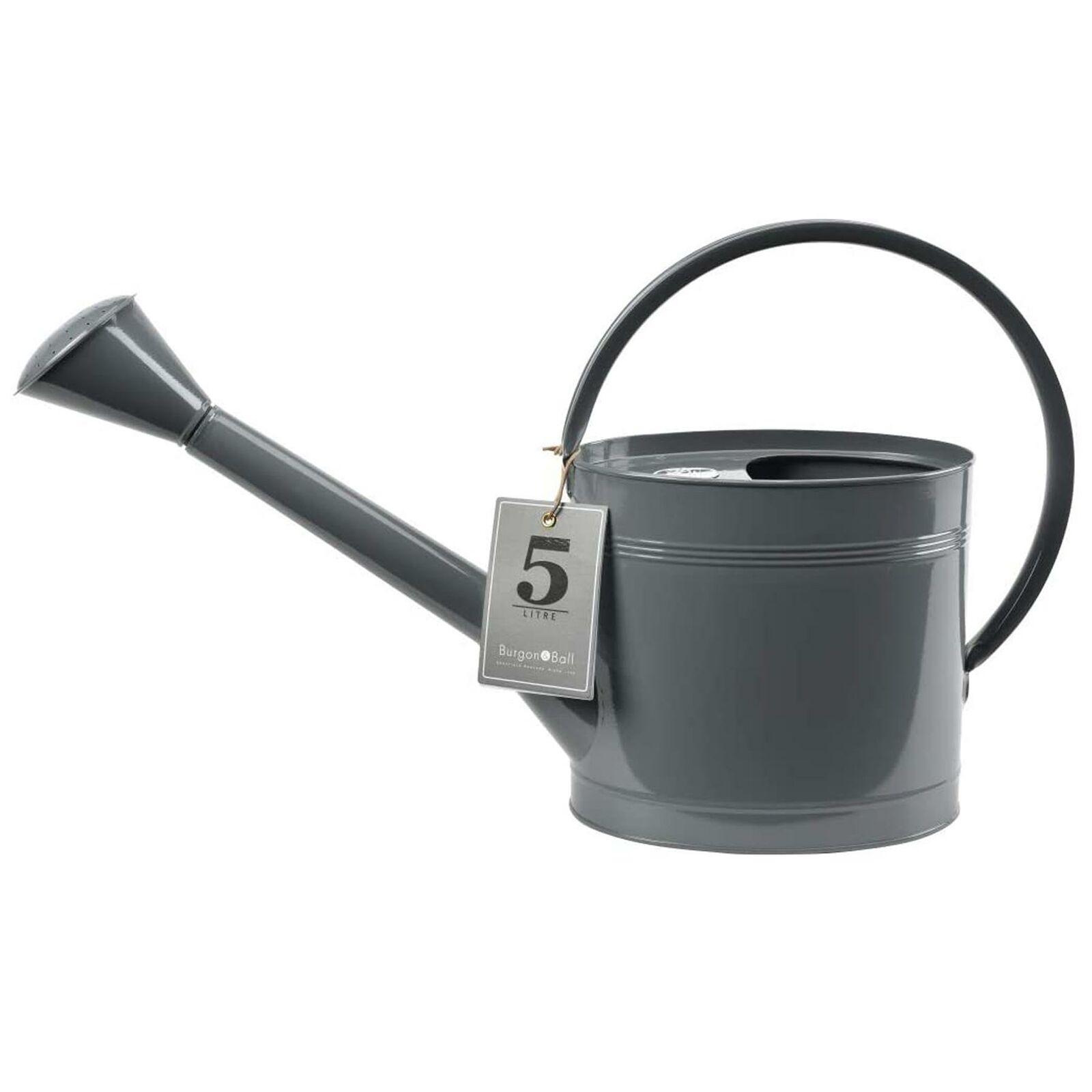 Burgon & Ball - Waterfall Watering Can - Slate