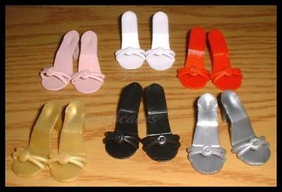 DOLL Shoes Rumba Sandals in WHITE fit Ellowyne and High Heel Marley