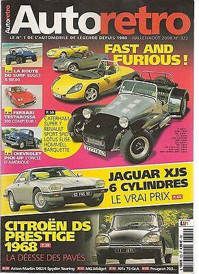 Onafhankelijk Auto Retro 322 Aston Db2/4 Spyder Mg Midget Jaguar Xjs Ferrari Testarossa Ds19 Fijne Kwaliteit
